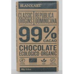 CHCOLATE NEGRO 99% ECOLOGICO