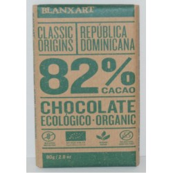 CHOCOLATE NEGRO 82% ECOLOGICO