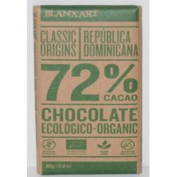 Chcolate Negro 72% Ecologico