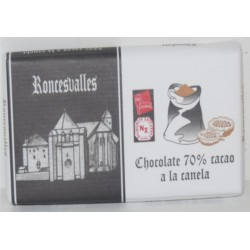 CHOCOLATE NEGRO 70% CANELA