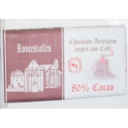 CHOCOLATE NEGRO 80% CAFE
